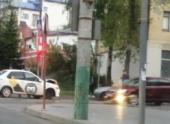 В Пензе на пересечении улиц произошло ДТП