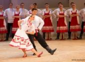 Танцы ансамбля Игоря Моисеева вызвали шквал аплодисментов в Иваново
