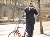 Пензенцы массово отправились на работу на велосипедах
